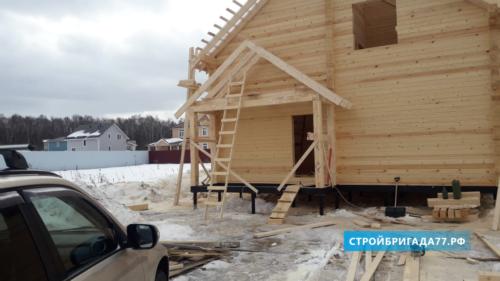 Деревянный дом  в Московской области