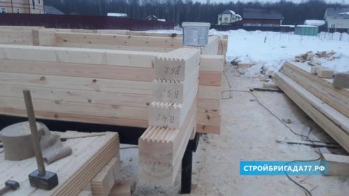 Строительство деревянного дом в Серпухове под Москвой